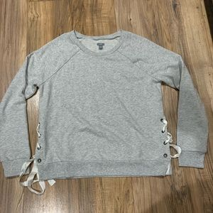 Super soft aerie sweater with open sides